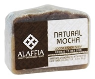 Alaffia - Cocoa Butter & Shea Luxurious Body Bar Soap Natural Mocha - 3 oz.