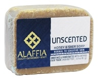 Alaffia - Shea Butter & Honey Extra Gentle Body Bar Soap Unscented - 3 oz.