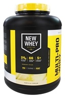 New Whey - Multi-Pro Whey Isolate Blend Vanilla Cream - 5 lbs.