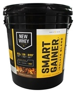 New Whey - Smart Gainer Isolate Blend Powder Chocolate Caramel - 10 lbs.
