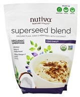 Nutiva - Noix de coco organique de mélange de Superseed - 32 once.