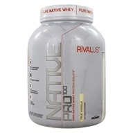 Rivalus - Native Pro 100 Whey Protein Isolate True Vanilla - 2.69 lbs.
