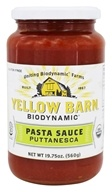 Good Boy Organics - Yellow Barn Organic Pasta Sauce Puttanesca - 19.75 oz.