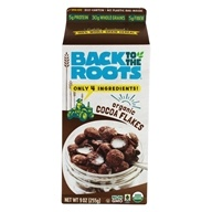 Back to the Roots - Organic Stoneground Flakes Cereal Cocoa Clusters - 10 oz.