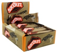 Skout - Organic Trail Bars Box Chocolate Peanut Butter - 12 Bars