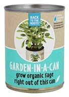 Back to the Roots - Garden-In-A-Can Organic Sage