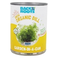 Back to the Roots - Garden-In-A-Can Organic Dill