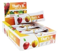 That's It - Fruit Bars Box Apple + Apricots - 12 Bars