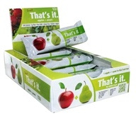 That's It - Fruit Bars Box Apple + Pear - 12 Bars