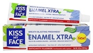 Kiss My Face - Enamel Xtra Toothpaste with Xylitol Cool Mint Gel - 4.5 oz.