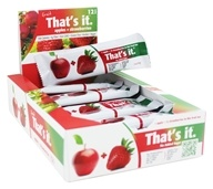 That's It - Fruit Bars Box Apple + Strawberries - 12 Bars