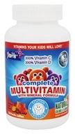 Yum-V's - Complete Multivitamin with Mineral Formula Fruit Flavors - 120 Jellies