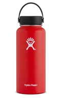 Hydro Flask - Stainless Steel Water Bottle Vacuum Insulated Wide Mouth with Flex Cap Lava - 32 oz.
