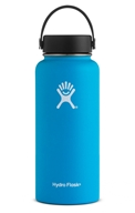 Hydro Flask - Stainless Steel Water Bottle Vacuum Insulated Wide Mouth with Flex Cap Pacific - 32 oz.