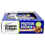 Orgain - Organic Protein Plant Based Bar Chocolate Chip Cookie Dough - 12 Bars