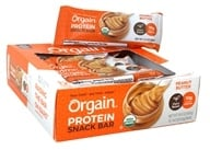 Orgain - Organic Protein Plant Based Bar Peanut Butter - 12 Bars
