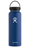 Hydro Flask - Stainless Steel Water Bottle Vacuum Insulated Wide Mouth with Flex Cap Cobalt - 40 oz.
