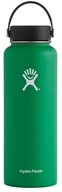 Hydro Flask - Stainless Steel Water Bottle Vacuum Insulated Wide Mouth with Flex Cap Forest - 40 oz.