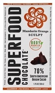 Good Superfoods - Superfood Chocolate Bar Mandarin Orange Sculpt - 1.75 oz.