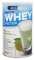 BioChem by Country Life - 100% Whey Sugar Free Protein Matcha Tea - 10.5 oz.