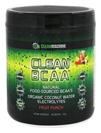 Clean Machine - Clean BCAA Fruit Punch - 216 Grams