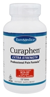 EuroMedica - Curaphen Professional Pain Formula Extra Strength - 120 Tablets