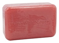 One With Nature - Dead Sea Mineral Bar Soap Wild Berry - 4 oz.