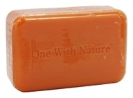 One With Nature - Dead Sea Mineral Bar Soap Orange Blossom - 4 oz.