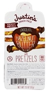 Justin's Nut Butter - Snack Pack with Pretzels Chocolate Hazelnut Butter - 1.3 oz.
