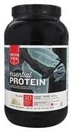 Iron Tek - Essential Protein Powder Plain - 1.63 lbs.