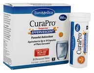EuroMedica - CuraPro Powerful Antioxidant Effervescent Tangerine 350 mg. - 30 Effervescent Tablet(s)