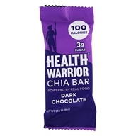 Health Warrior - Superfood Chia Bar Dark Chocolate - 0.88 oz.