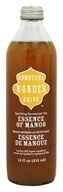 Kombucha Wonder Drink - Sparkling Fermented Tea Essence of Mango - 14 oz.
