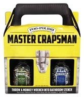 Poo~Pourri - Master Crapsman Before-You-Go Toilet Spray Gift Set
