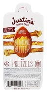 Justin's Nut Butter - Snack Pack with Pretzels Maple Almond Butter - 1.3 oz.