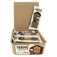 GoMacro - Organic Thrive Bars Box Chocolate, Nuts & Sea Salt - 12 Bars