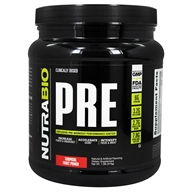 NutraBio - PRE Workout Tropical Fruit Punch - 502 Grams
