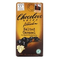 Chocolove - Dark Chocolate Bar Salted Caramel - 3.2 oz.