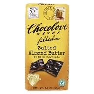 Chocolove - Dark Chocolate Bar Salted Almond Butter - 3.2 oz.