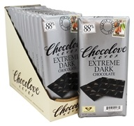 Chocolove - Dark Chocolate Bar Extreme Dark - 12 Bars