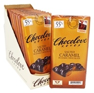 Chocolove - Dark Chocolate Bars Salted Caramel - 10 Bars