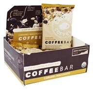 New Grounds Food - Coffee Bars Caramel Macchiato - 12 Bars