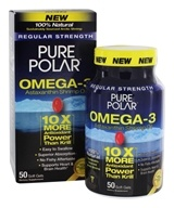 Pure Polar Labs - Omega-3 Shrimp Oil 100% Natural Regular Strength - 50 Softgels