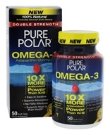 Pure Polar Labs - Omega-3 Shrimp Oil 100% Natural Double Strength - 50 Softgels