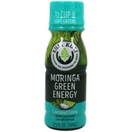 Kuli Kuli - Moringa Green Energy Shot Coconut Lime - 2.5 fl. oz.