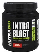 NutraBio - Intra Blast Tropical Fruit Punch - 723 Grams