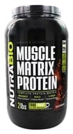 NutraBio - Muscle Matrix Protein Dutch Chocolate - 2 lbs.