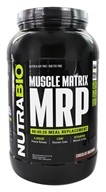 NutraBio - Muscle Matrix MRP Chocolate Milkshake - 2.4 lbs.
