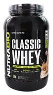 NutraBio - Classic Whey Protein Horchata - 2 lb.