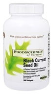 FoodScience of Vermont - Black Currant Seed Oil - 180 Softgels